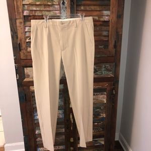 NWT Footjoy Performance Golf Pants Khaki tan 36